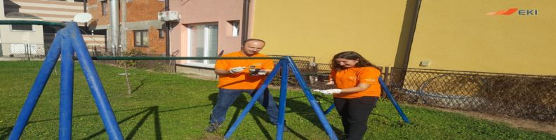Decorating the Playground of the Kindergarten in Živinice