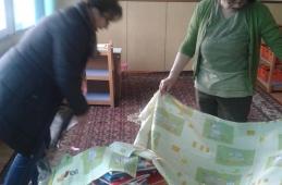 """Donacija posteljina obdaništu """"Radost"""", Bratunac"""
