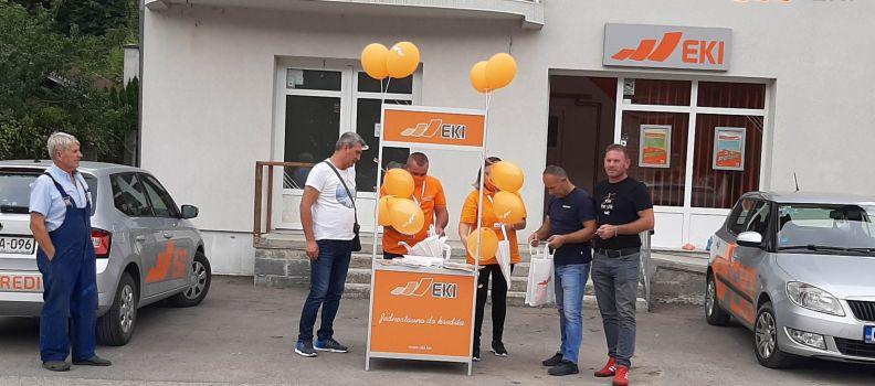Promocija EKI kreditnih proizvoda u Sapni