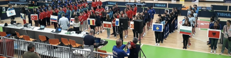 XXVI Balkan Youth Tournament in Table Tennis, Zenica 2018