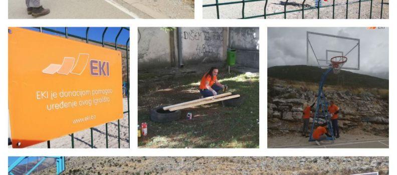 """Children's Playground Trebinje and Primary School """"Petar II Petrović Njegoš"""" Bileća"""