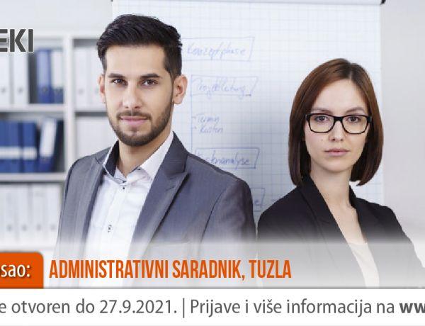 Administrativni saradnik – Tuzla