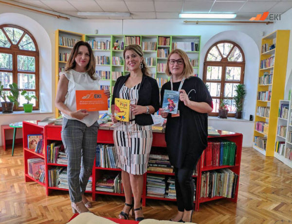 Donation of books for school reading assignments – National Library, Trebinje