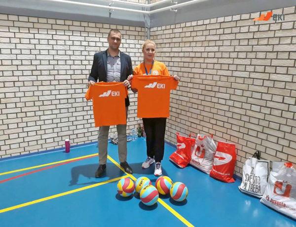 "Donation for the Volleyball Academy ""Dijana Vasić"""