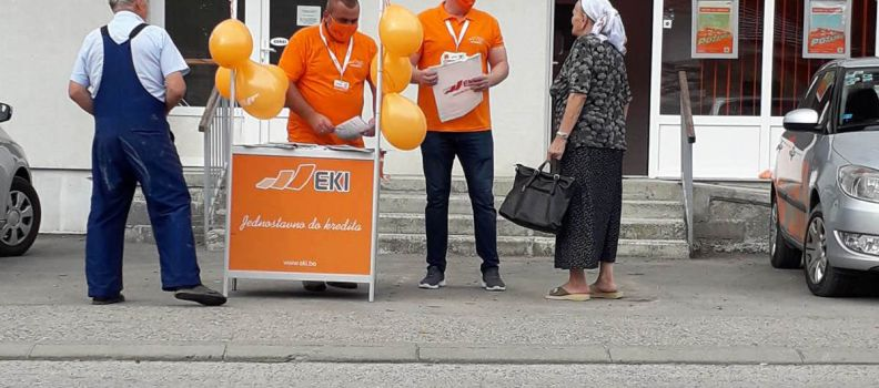 Promotion of EKI Credit Products in Sapna