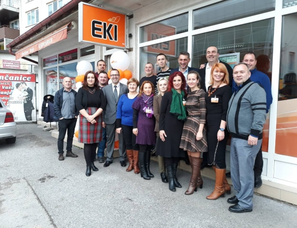 Ceremonial Reception in EKI Cazin