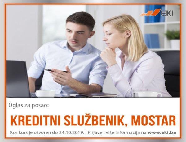 Kreditni službenik, Mostar