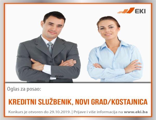 Kreditni službenik, Novi Grad/Kostajnica