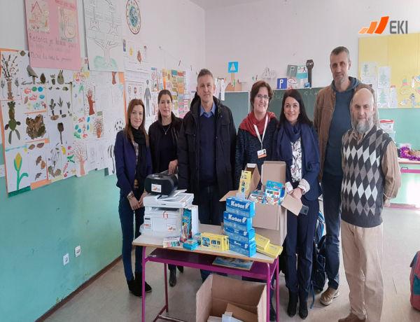"Donation for the Elementary School ""Kalesija Gornja"""