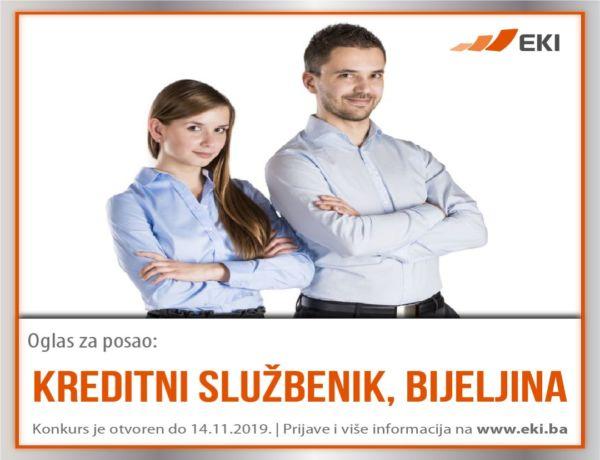 Kreditni službenik – Bijeljina