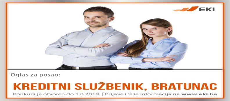 Kreditni službenik – Bratunac