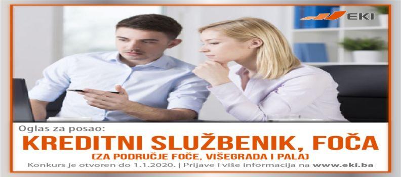 Kreditni službenik – Foča