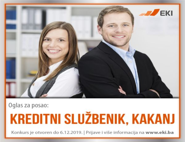Kreditni službenik – Kakanj