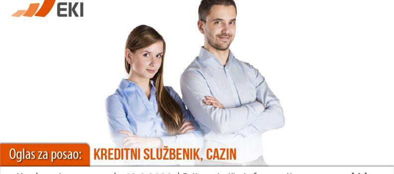 Kreditni službenik – Cazin