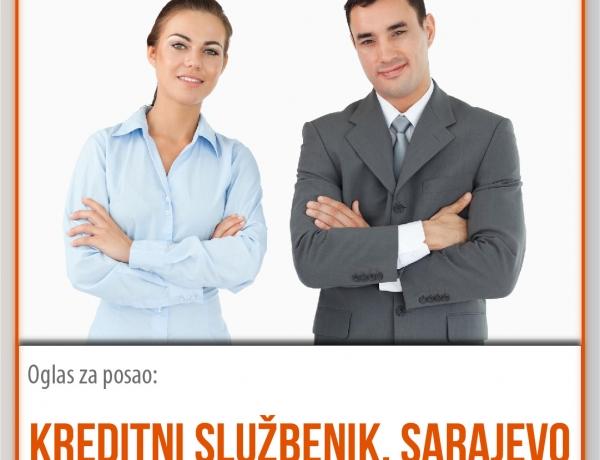 Kreditni službenik – Sarajevo