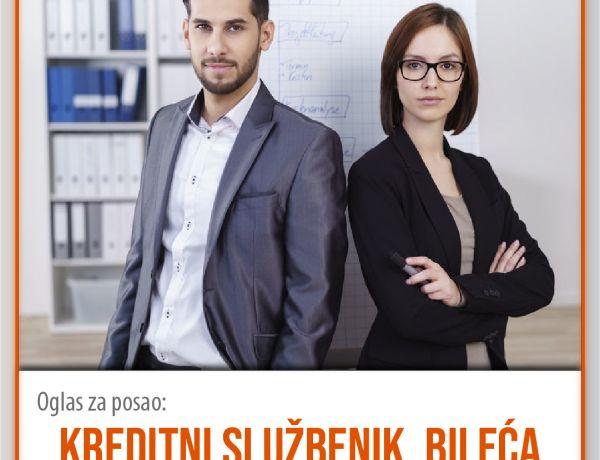 Kreditni službenik – Bileća