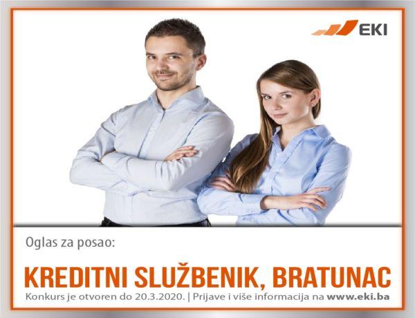 Kreditni službenik, Bratunac