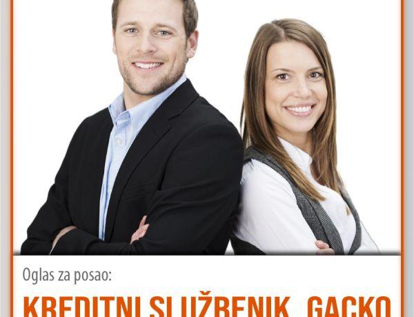Kreditni službenik – Gacko