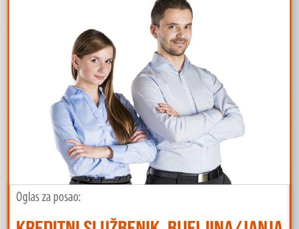 Kreditni službenik – Bijeljina/Janja