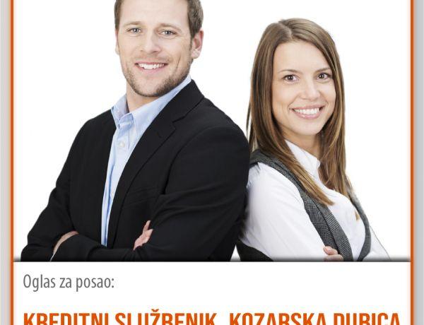 Kreditni službenik – Kozarska Dubica