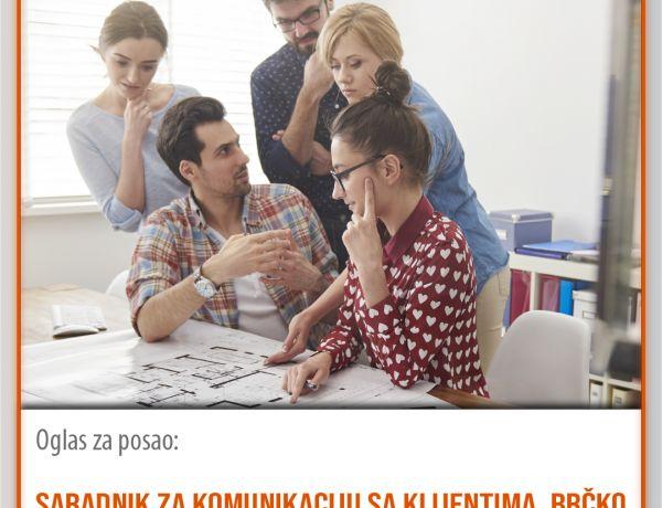 Saradnik za komunikaciju sa klijentima, Brčko