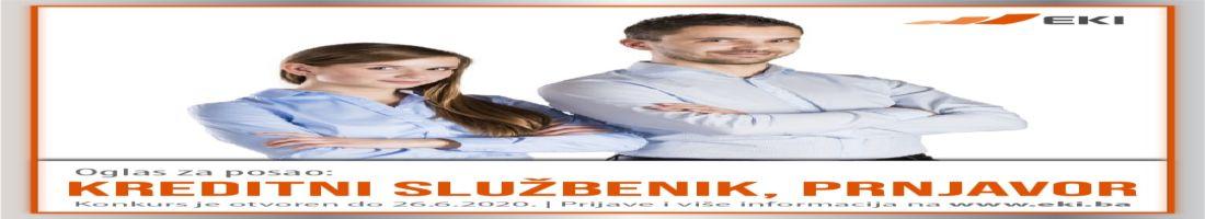 Kreditni službenik – Prnjavor