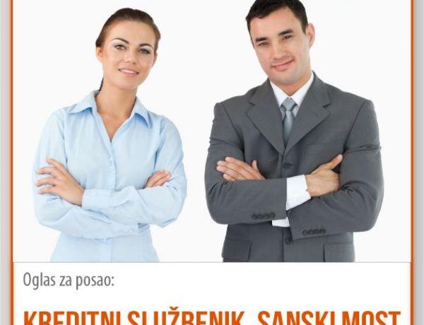 Kreditni službenik – Sanski Most