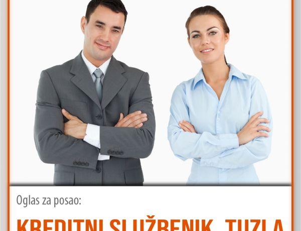 Kreditni službenik – Tuzla