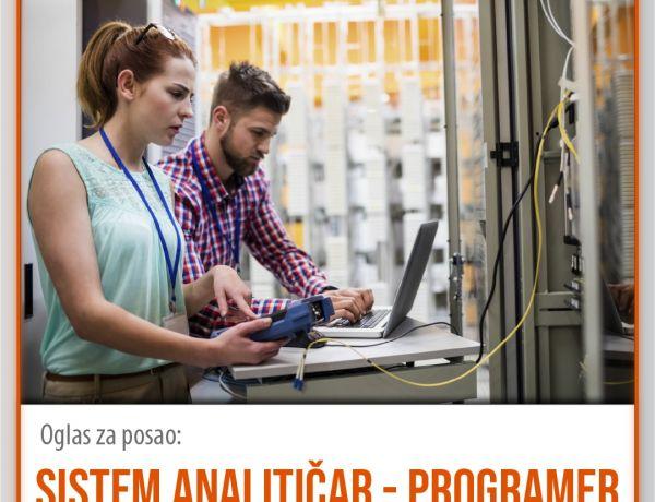 Sistem analitičar – programer