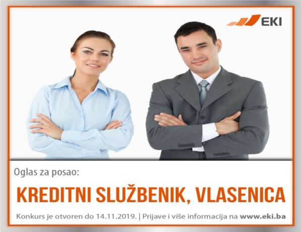 Kreditni službenik – Vlasenica