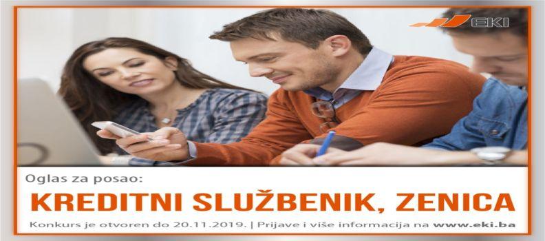 Kreditni službenik – Zenica