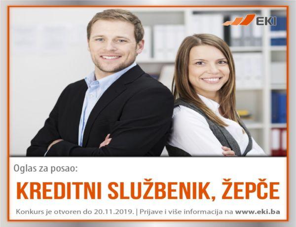 Kreditni službenik – Žepče
