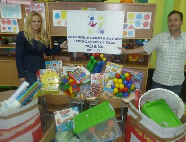 """URIG za pomoć djeci s poteškoćama u učenju i učešću """"Naša djeca"""", Kiseljak"""