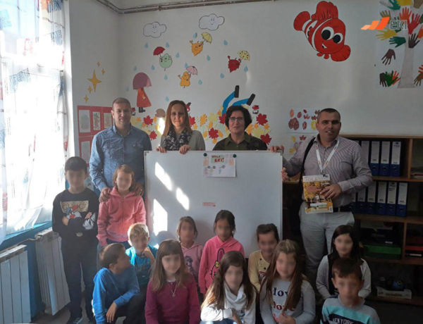 "Donation of flip charts for Elementary School ""Gornja Sapna"""