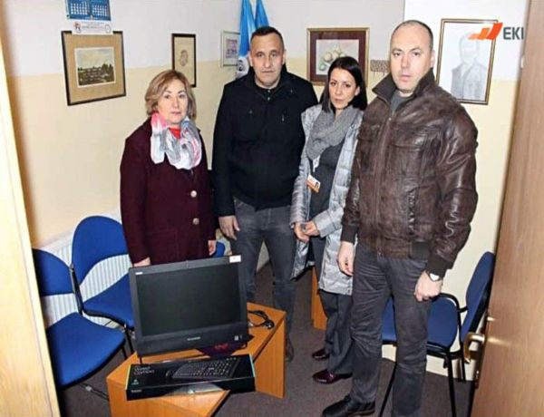 "Donation of computers to the Association ""Rastimo srećno"" from Rogatica"