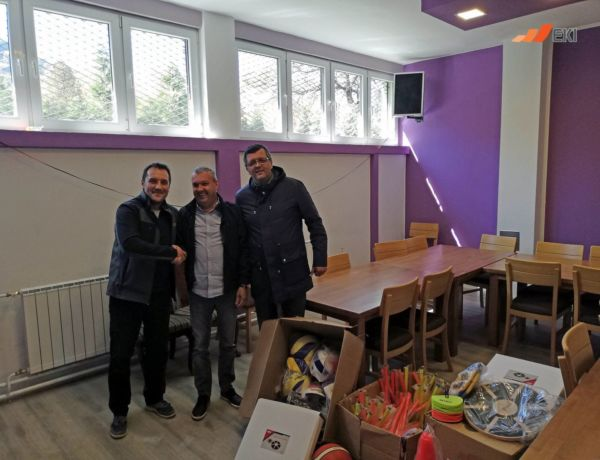 "Sports Club ""Pobjednik Winner"", Zenica – donation of sports equipment and accessories"