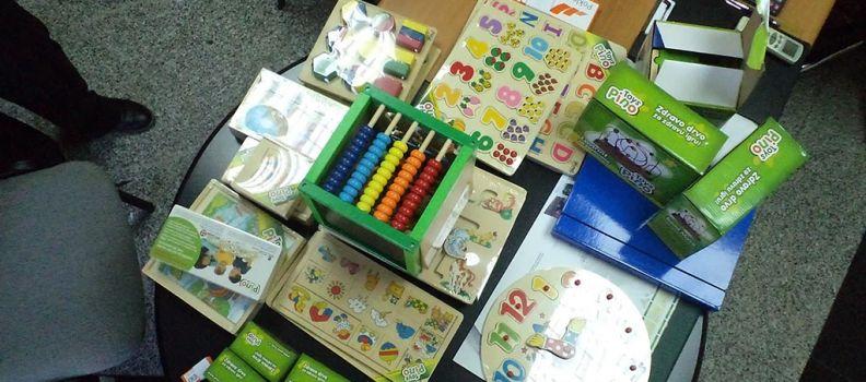 """Donacija didaktičkih igračaka obdaništu """"Naša radost"""", Zvornik"""