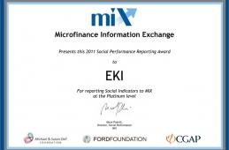 EKI Platinum 2011