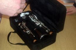 Donacija klarineta Muzičkoj školi, Živinice