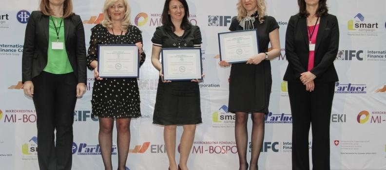 EKI, Mi Bospo i Partner, lideri primjera poštovanja principa za zaštitu klijenata