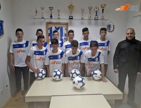"Donation of sports equipment to the juniors of the Footbal Club ""Sutjeska"", Foča"