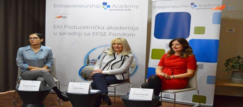 Predstavljena Poduzetnička akademija za osobe sa poslovnom idejom sa područja Kantona Sarajevo